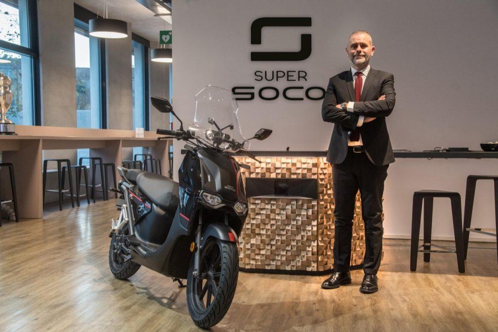 Vmoto Soco: Graziano Milone nominato Presidente, Strategy & Business Development di Vmoto Soco International