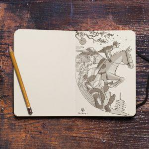 Suzuki Burgman 400: con il progetto ARThletes un incontro con artisti dell'illustrazione [FOTO]