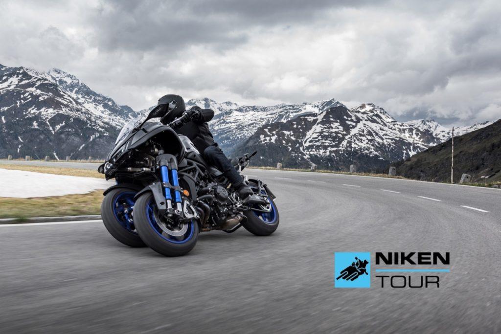 Yamaha Niken Tour 2021: parte una nuova esperienza di guida sull'esemplare a tre ruote