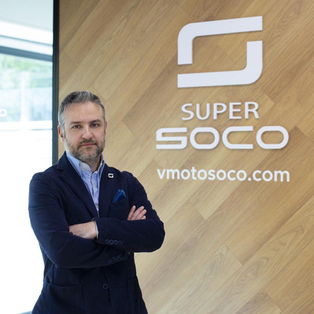 Vmoto Soco: Maurizio Ruvolo nuovo Sales Manager di Vmoto Soco Italy