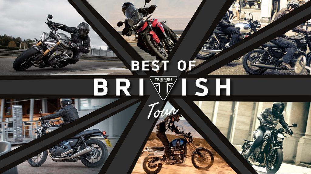 Triumph, Best of British Tour 2021: l'apertura di 11 nuove concessionarie sul territorio [FOTO]