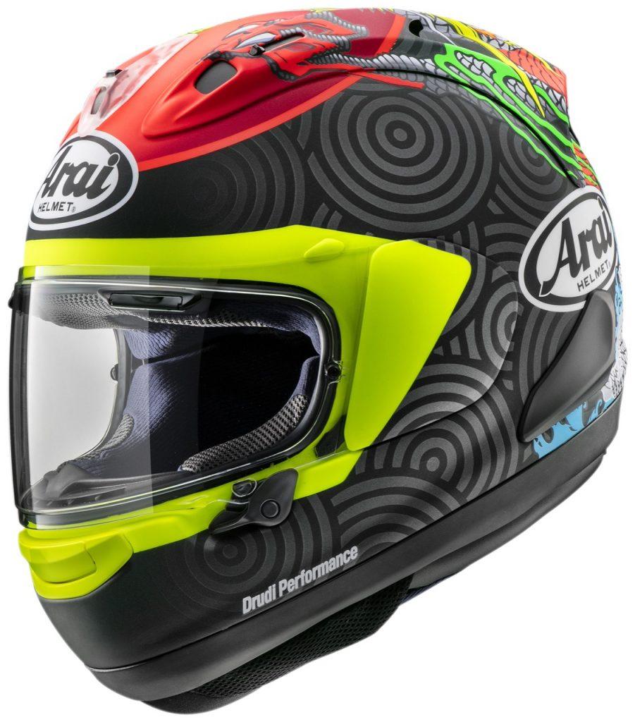 Arai RX-7V: un casco che associa elevata sportività e sicurezza [FOTO]