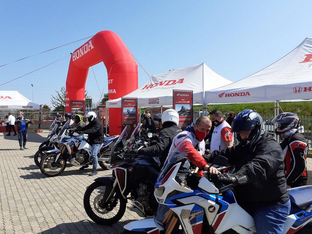 Honda: modelli in evidenza e anche prove su strada in occasione di Honda Live Tour al MIMO [FOTO]