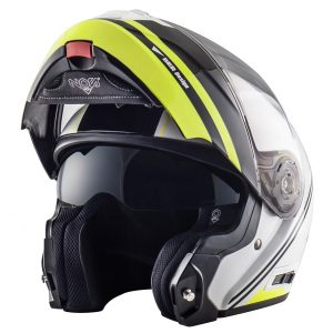NOS NS-8: una protezione da casco Full Face con proprietà da Jet [FOTO]