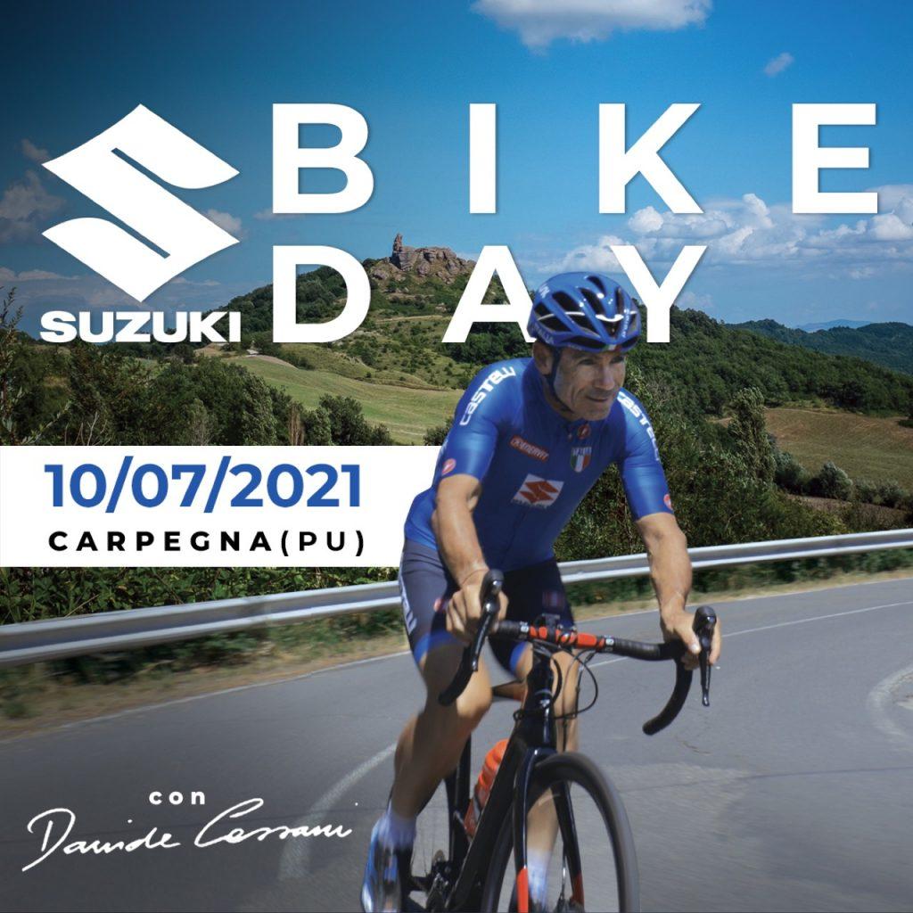 Suzuki Bike Day: il 10 luglio 2021 una giornata per appassionati di ciclismo