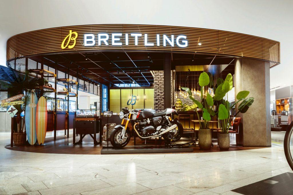 Triumph e Breitling: una partnership a lungo termine [FOTO]