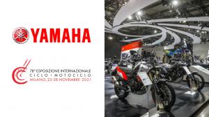 Yamaha presente all'edizione di EICMA del 2021