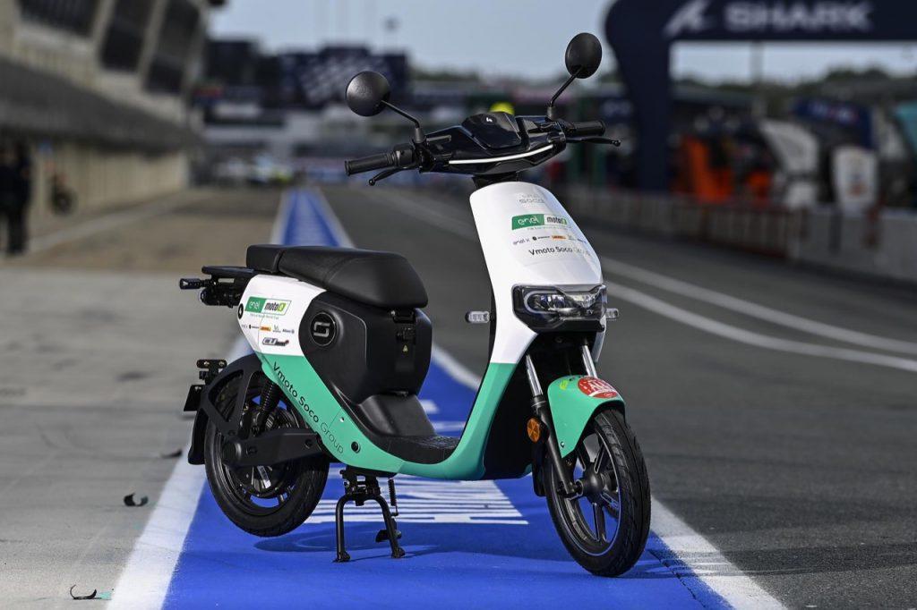 Vmoto Soco: una collaborazione con fornitura di scooter elettrici per la MotoE [FOTO]