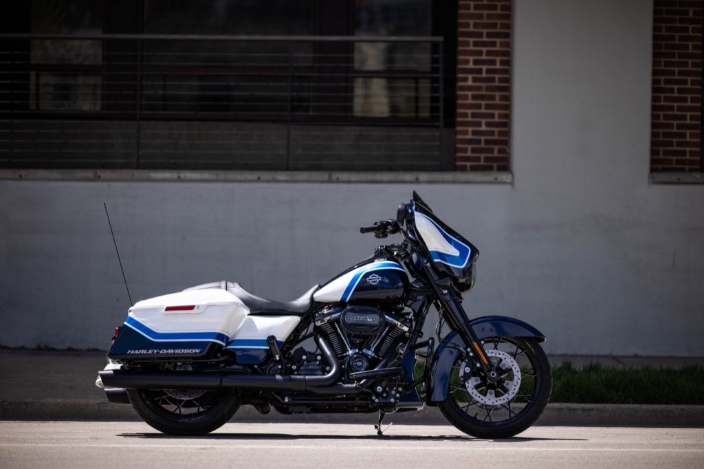Harley-Davidson Street Glide Special: un riassunto della Arctic Blast in edizione limitata [VIDEO]