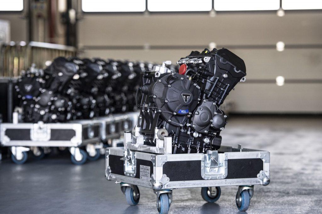 Triumph: fornitore dei motori per altri tre anni del Campionato Mondiale Moto2